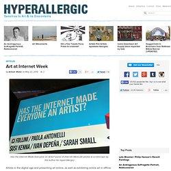 Art at Internet Week