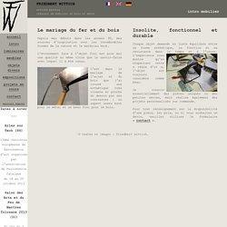 fw-art - intro mobilier en bois et métal