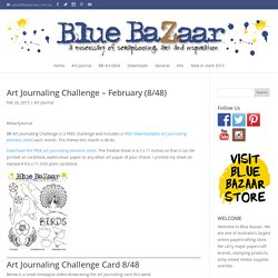Art Journaling Challenge FREE
