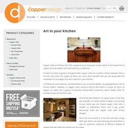 Art in your kitchen - The Copper Design