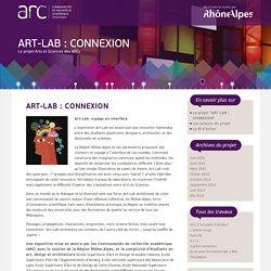 ART-LAB : CONNEXION