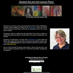 Art and Lesson Plans