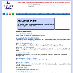 s Guide Art Lesson Plans Page