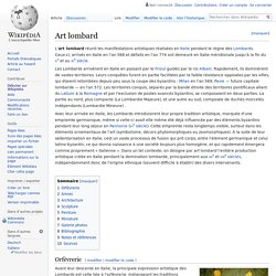 Art lombard