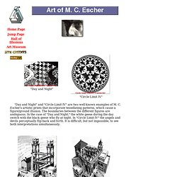 Art of M. C. Escher