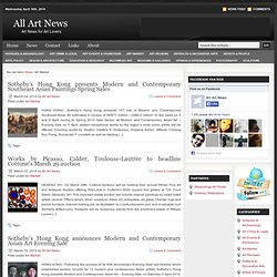 Art Market | All Art News