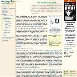 Art médiumnique