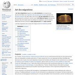Art des migrations