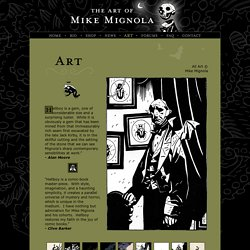 Art | Art of Mike Mignola