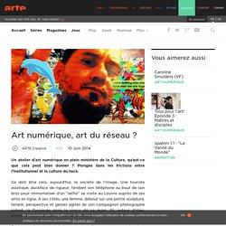 Art numérique, art du réseau ?