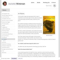 Jeanette winterson essay