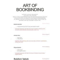 Art Of Bookbinding - Page 1 of 68