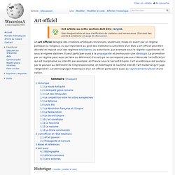 Art officiel
