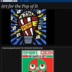 Art for the Pop of It: September 2012