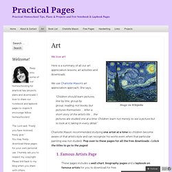 Art | Practical Pages