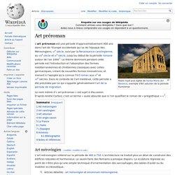 Art préroman