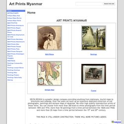 Art Prints Myanmar