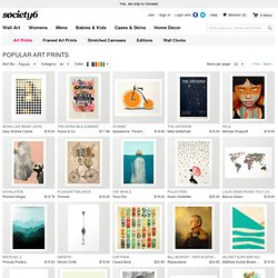 Society6 Artists Art Prints | Print Shop
