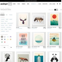 Popular Art Prints - Society6