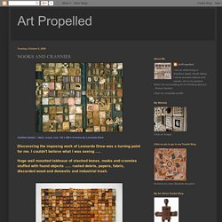 Art Propelled: NOOKS AND CRANNIES
