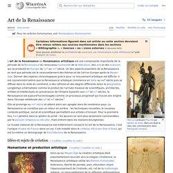Art de la Renaissance