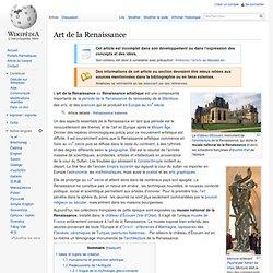 Renaissance artistique