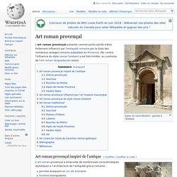 Art roman provençal