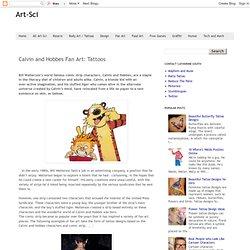 Calvin and Hobbes Fan Art: Tattoos