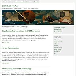 Art and Technology « Digital Art For All