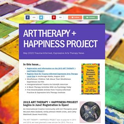 ART THERAPY + HAPPINESS PROJECT