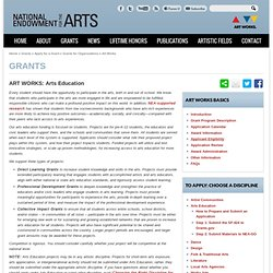 ART WORKS: Arts Education