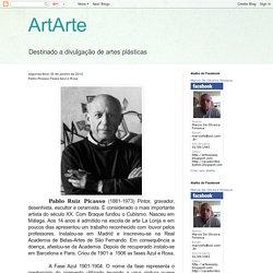 ArtArte: Pablo Picasso Fases Azul e Rosa