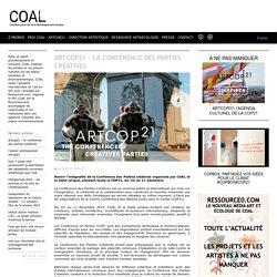 ArtCOP21 – La Conférence des Parties Créatives