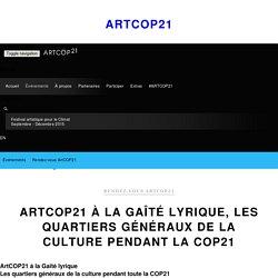 à la Gaîté lyrique, les quartiers généraux de la culture pendant la COP21 - ArtCOP21