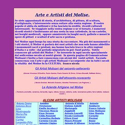 arte & artisti molisani