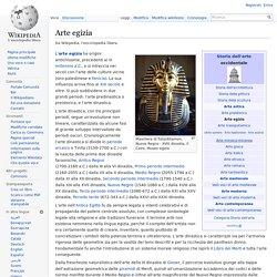 Arte egizia Wikipedia