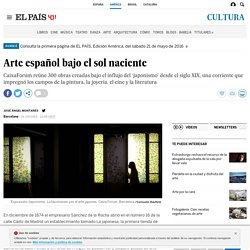 Arte español bajo el sol naciente
