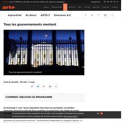Tous les gouvernements mentent
