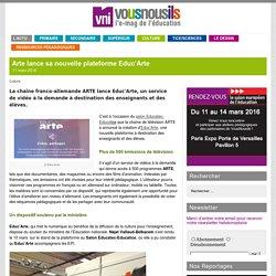 Arte lance sa nouvelle plateforme Educ'Arte