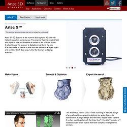 Artec S — Artec 3D Scanners