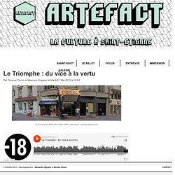 Artefact - Le Triomphe : du vice à la vertu