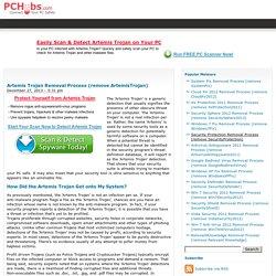 Artemis Trojan Removal Process (remove ArtemisTrojan) - PCHubs.com