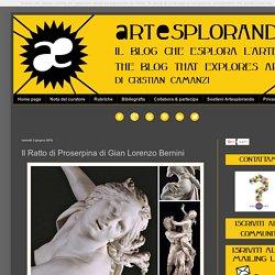 Il Ratto di Proserpina di Gian Lorenzo Bernini
