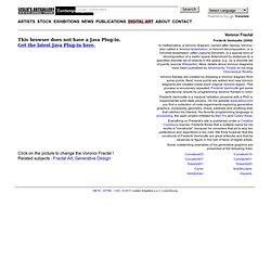 Leslie's Artgallery : Digital Art - Voronoi Fractal