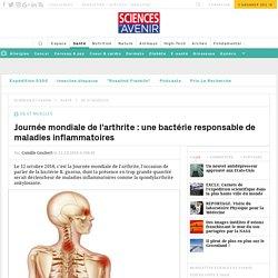 Arthrite : une bactérie cause des maladies inflammatoires