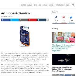 Arthrogenix Review - Natural Health Supplement