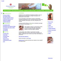 Arthrose - Les causes émotionnelles de l'arthrose
