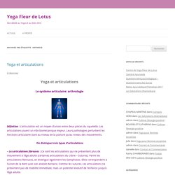 Yoga Fleur de Lotus