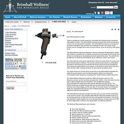 The Pro ArthroStim® Chiropractic Adjusting Equipment Distributor - Brimhall.com