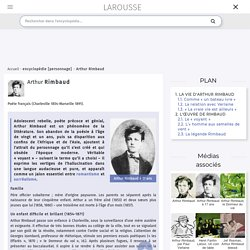 Biographie Arthur Rimbaud